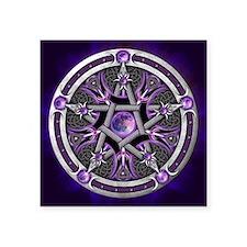 Purple Moon Pentacle Sticker