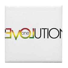 One Love revolution 5 Tile Coaster