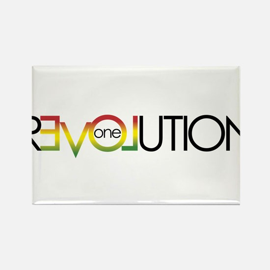 One Love revolution 5 Magnets