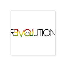 One Love revolution 5 Sticker