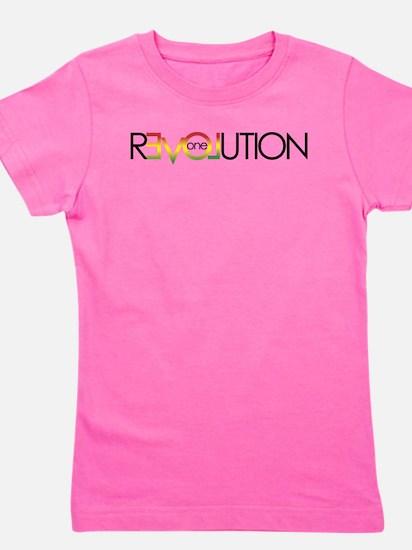 One Love revolution 5 Girl's Tee