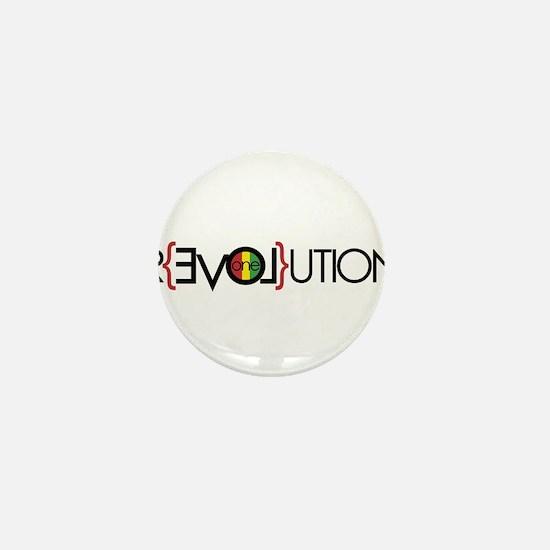 One Love Revolution 6 Mini Button