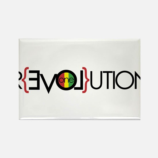 One Love Revolution 6 Magnets