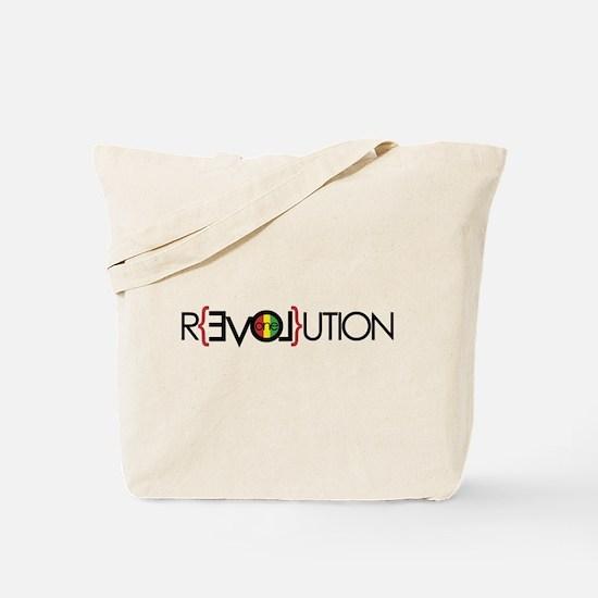 One Love Revolution 6 Tote Bag