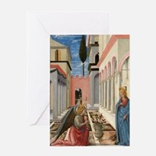 Fra Carnevale - The Annunciation Greeting Card