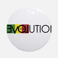 One Love Revolution 7 Ornament (Round)