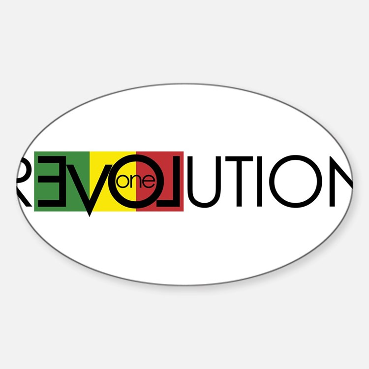 One Love Revolution 7 Decal