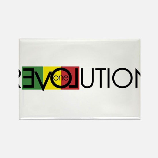 One Love Revolution 7 Magnets