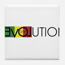 One Love Revolution 7 Tile Coaster