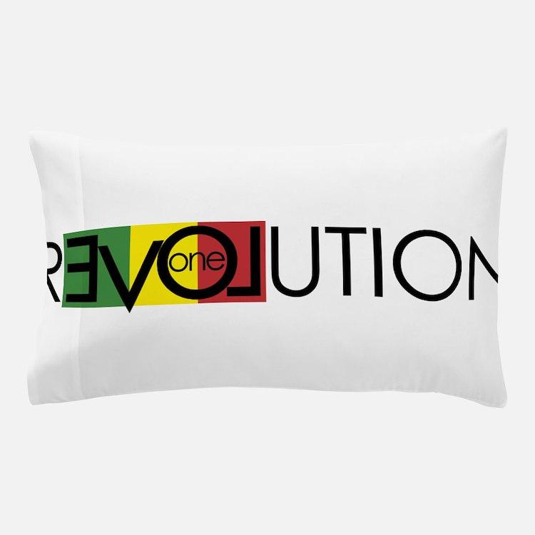 One Love Revolution 7 Pillow Case