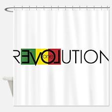 One Love Revolution 7 Shower Curtain