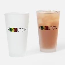 One Love Revolution 7 Drinking Glass