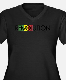 One Love Revolution 7 Plus Size T-Shirt