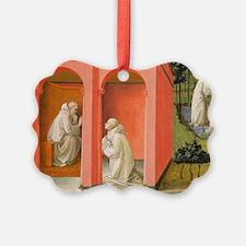 Saint Benedict Orders Saint Mauru Ornament