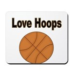 Love Hoops Mousepad