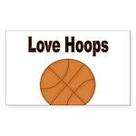 Love Hoops Sticker