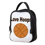Love Hoops Neoprene Lunch Bag