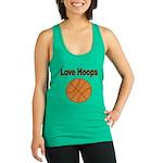 Love Hoops Racerback Tank Top