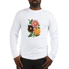Dahlias Long Sleeve T-Shirt