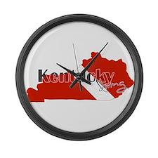 Kentucky Diver Large Wall Clock