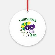 Ragin Cajun Ornament (Round)