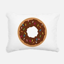 Doughnut Rectangular Canvas Pillow