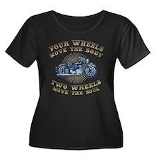 four-wheels-2-509-T Plus Size T-Shirt