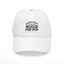 World's Most Awesome Pop Pop Baseball Cap