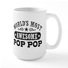 World's Most Awesome Pop Pop Mug