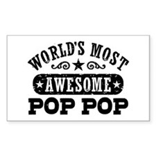 World's Most Awesome Pop Pop Decal