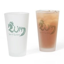 2014 Year Lucky Horse Drinking Glass