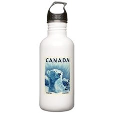 Vintage 1953 Canada Polar Bear Postage Stamp Water