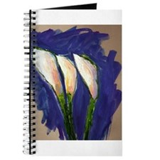 Setting Sail Calla Lily Art Painting Journal