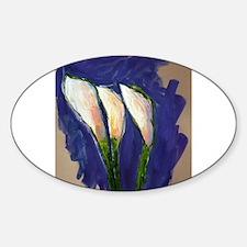 Setting Sail Calla Lily Art Painting Decal