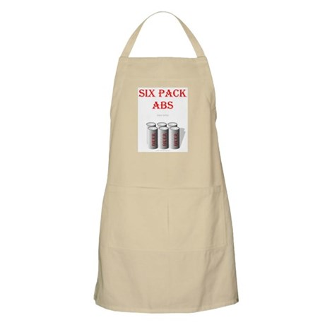 Six Pack Abs (beer belly) BBQ Apron