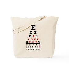 ValentEYEne Tote Bag
