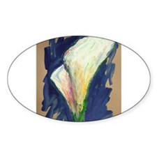 Tuxedo Cuff Calla Lily Painting Decal