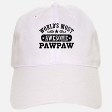 World's Most Awesome PawPaw Baseball Baseball Cap