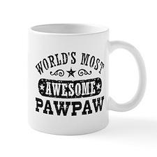World's Most Awesome PawPaw Mug