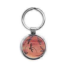 Dragonfly Pomegranate Keychains