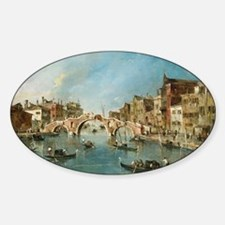 View on the Cannaregio Canal Venice Decal