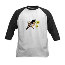 Black Eyed Susan Bird Baseball Jersey