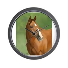 Bay Horse Wall Clock