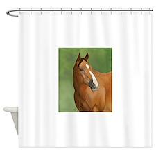 Bay Horse Shower Curtain