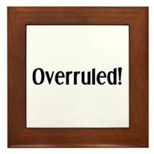 Overruled Framed Tile