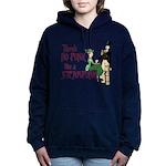 No Punk Like A Steampunk. Womens Hooded Sweatshirt