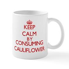 Keep calm by consuming Cauliflower Mugs