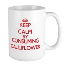 Keep calm by consuming Cauliflower Mugs