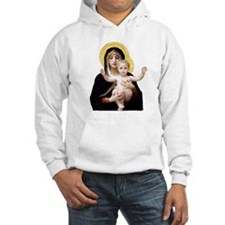 Virgin of the Lilies Hoodie