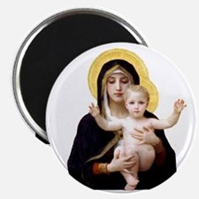 Virgin of the Lilies Magnet